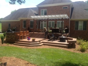 Oak Valley outdoor oasis by Archadeck of the Piedmont Triad